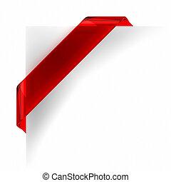 transzparens, piros