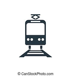 tranvía, icono