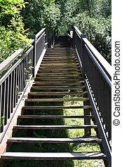 trap, het uitgaan