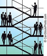 trap, zakenlui