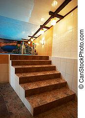 trappa, marmor