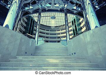 trappa, samtidig