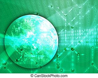 trasferimento, globale, dati