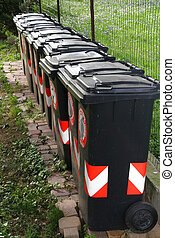 trash bins for separate waste collection of solid waste 1