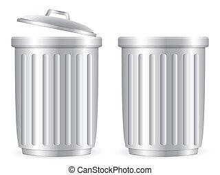 trash cans 2
