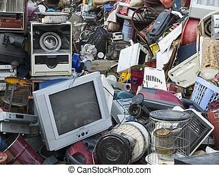 Trash - Garage sale or Garbage sale (Asian)