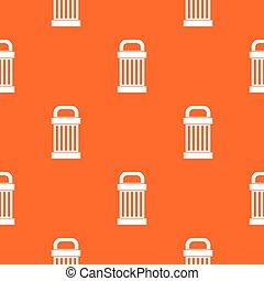 Trash pattern seamless