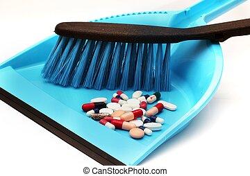 Trash pills