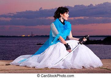 trash the dress woman