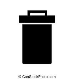 Trash Web Icon - msidiqf