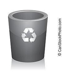 trashcan , ανακυκλώνω