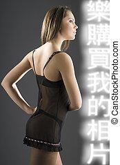 trasparent lingerie