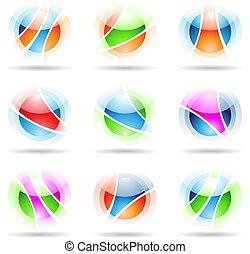 trasparente, palle