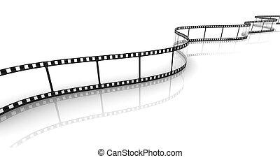 trasparente, striscia cinematografica