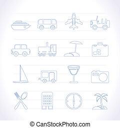 trasporto, viaggiare, turismo