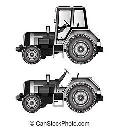 tratores, agrícola, machinery-