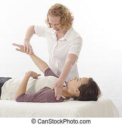 trattare, kinesiologist, diaframma