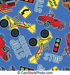 trattori, lavoro, camion