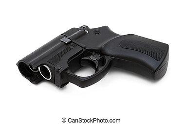 Traumatic gun - Self defense non-lethal traumatic handgun...