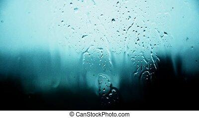 traurigkeit, regen, gedanken, ausgeflippt, weather., 24