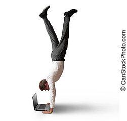 travail, acrobatique