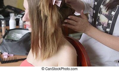 travail, coiffeur