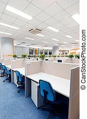 Travail, endroit, bureau