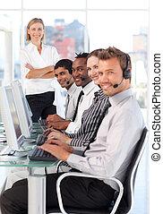 travail, equipe affaires