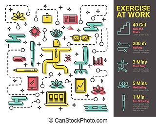 travail, exercice