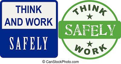 travail, sans risque, penser