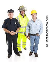 travailler hommes