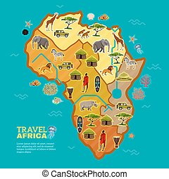 Travel Africa Poster