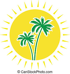 travel agency - sun and palms