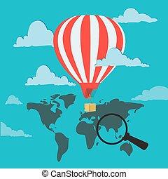 travel air balloon