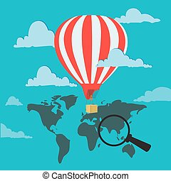 travel air balloon