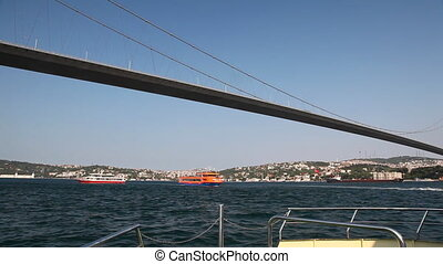 Travel along Bosphorus