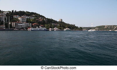 Travel along Bosphorus