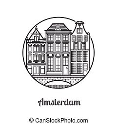 Travel Amsterdam Icon