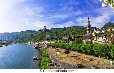 Travel and landmarks of Germany ,Cochem town.