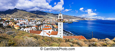 Travel and landmarks of Tenerife. Canary islands - Travel ...