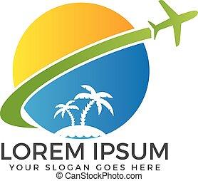 Travel and tourism logo. - Vector logo travel