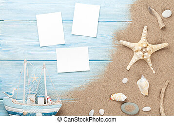 Travel and vacation photo frames and items