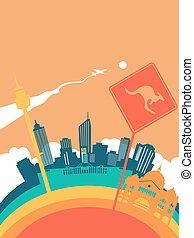 Travel australia world landmark landscape