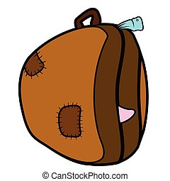 Travel bag dotted sticker
