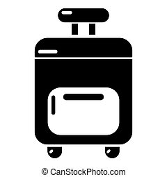 Travel bag icon , simple style
