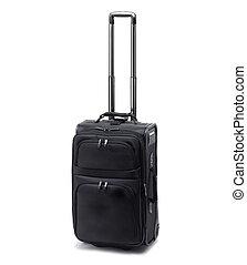 Travel bag isolated on white background.