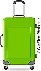 Travel bag vector illustration.