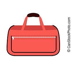 Travel bag vector illustration