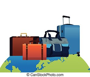 travel baggage icon