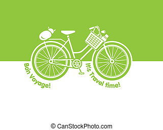 Travel bicycle